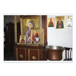 Religious Icons Invitation