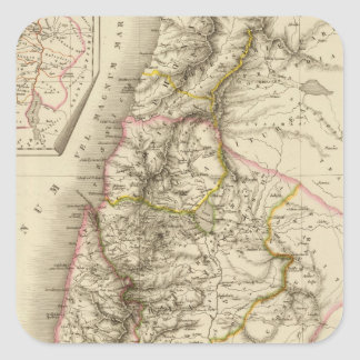 Religious Middle East atlas map Sticker