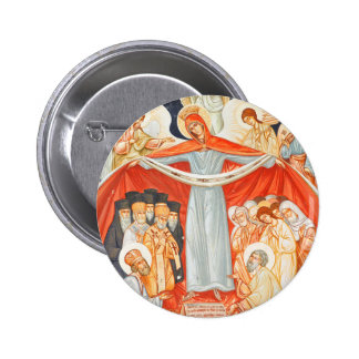 Religious painting 2 inch round button