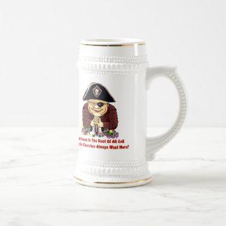 Religious Pirate 18 Oz Beer Stein