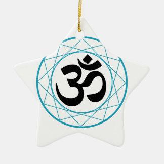 Religious Symbol of Hinduism- Pranava Christmas Tree Ornament