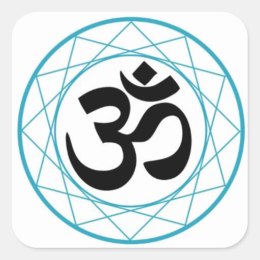 Religious Symbol of Hinduism- Pranava Sticker