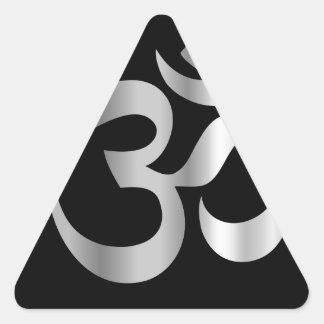Religious Symbol of Hinduism- Pranava Triangle Sticker