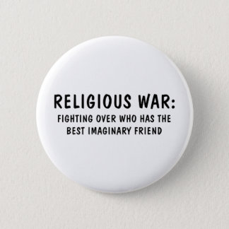 Religious War 2 Inch Round Button