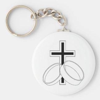 Religious Wedding Invitation Key Chains