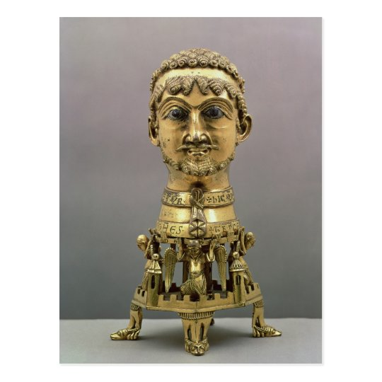 Reliquary bust of Frederick I Postcard