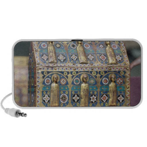 Reliquary Chasse, Limoges, c.1200-50 iPhone Speaker