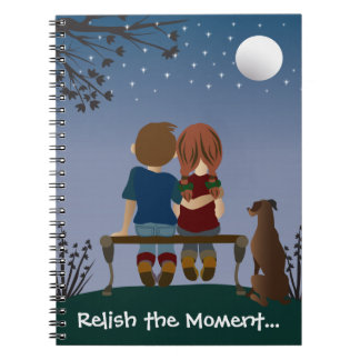 Relish the Moment Journal Spiral Note Book