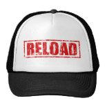 Reload! - Video Game Gamer Gaming Shoot Gun Trucker Hat