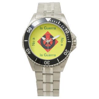 Reloj de Mano - No a La Guerra Watch