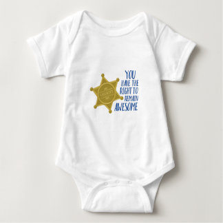 Remain Awesome Baby Bodysuit