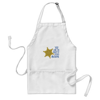 Remain Awesome Standard Apron