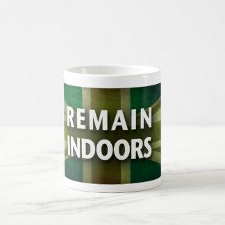 Remain Indoors Morphing Mug