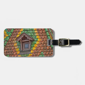 Remarkable roofing in the center of Obernai Bag Tag
