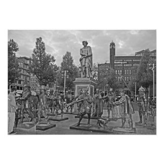Rembrandt and Night Watch Photo Print