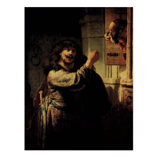 Rembrandt Art Painting Post Cards