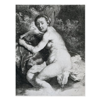 Rembrandt Art Painting Postcard