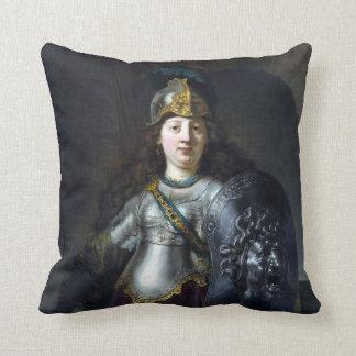 Rembrandt Bellona Throw Pillow