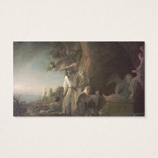 Rembrandt- Christ & St. Mary Magdalene at the Tomb Business Card