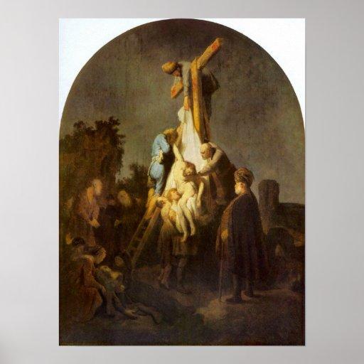 Rembrandt Harmenszoon van Rijn - Crucifixion Posters