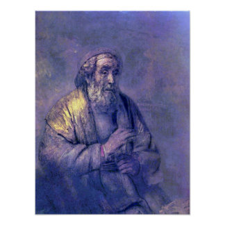 Rembrandt Harmenszoon van Rijn - Homer Poster