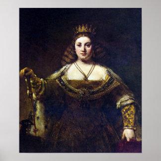 Rembrandt Harmenszoon van Rijn - Juno Posters