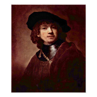 Rembrandt Harmenszoon van Rijn - Portrait Posters