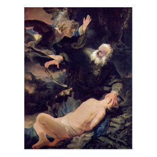 Rembrandt Harmenszoon van Rijn Rembrandt 1606-07-1 Postcard