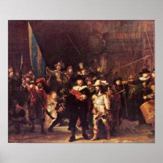 Rembrandt Harmenszoon van Rijn - The Night Watch Poster