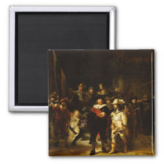 Rembrandt Nightwatch Night Watch Baroque Painting Magnet