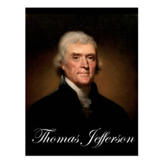 Rembrandt_Peale-Thomas_Jefferson 1 Postcard