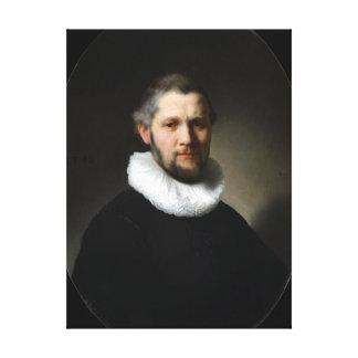 Rembrandt Portrait of a Man Canvas Print