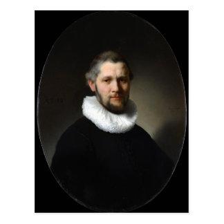 Rembrandt Portrait of a Man Postcard