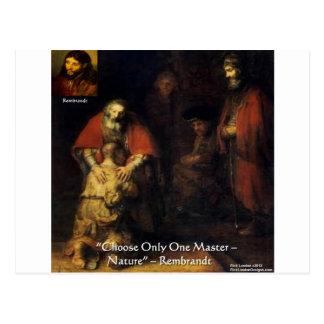 Rembrandt Prodigal Son Elegant Gifts & Cards Postcard