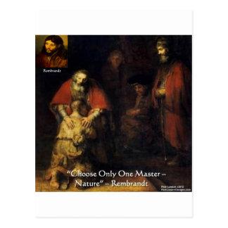 Rembrandt Prodigal Son Elegant Gifts & Cards Postcards