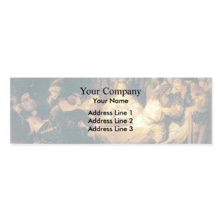 Rembrandt Samson at the Wedding Business Card