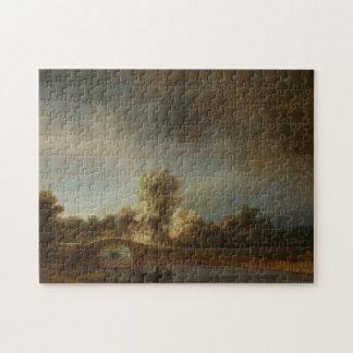 Rembrandt Stone bridge Puzzle