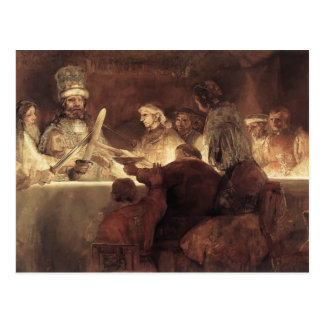 Rembrandt: The Conspiration of the Bataves Postcards