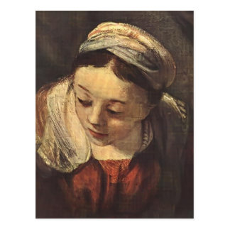 Rembrandt- The Holy Family(fragment) Postcards