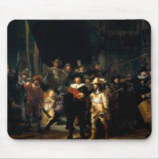 Rembrandt The Night Watch Mouse Pad