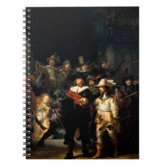 Rembrandt The Night Watch Notebook