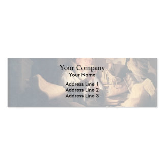 Rembrandt: The Rich Man from the Parable Business Card