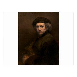 Rembrandt va Rijn Artist Postcard