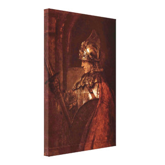 Rembrandt van Rijn - Alexander the Great Canvas Print