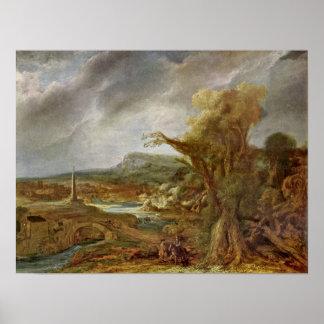 Rembrandt van Rijn - Alexander the Great Posters