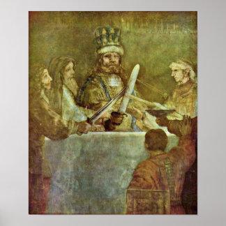 Rembrandt van Rijn - Conspiracy of Batavian Poster