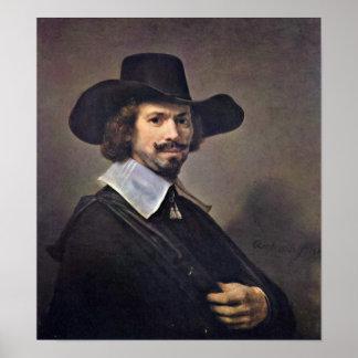 Rembrandt van Rijn - Hendrick MartenszoonSorgh Print