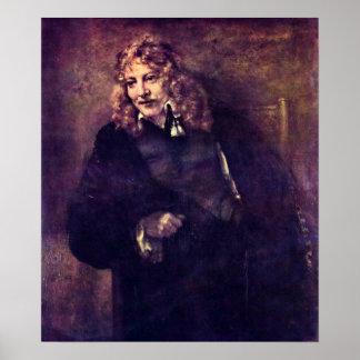 Rembrandt van Rijn - Nicholas Bruyningh Print