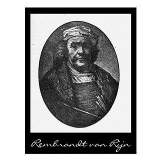 Rembrandt van Rijn Postcard