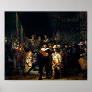 Rembrandt Van Rijn, The Night Watch Poster
